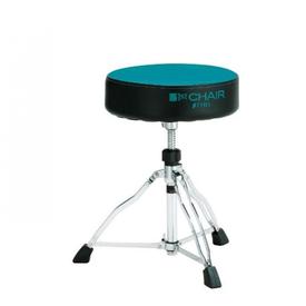 TAMA Tama HT430BGC 1st Chair Round Rider Drum Throne w/ Blue Green Cloth Top Seat