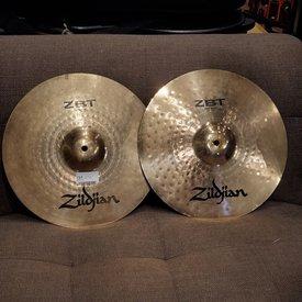 "Zildjian Cymbals 14"" Zildjian ZBT Hi Hat Pair - Used"