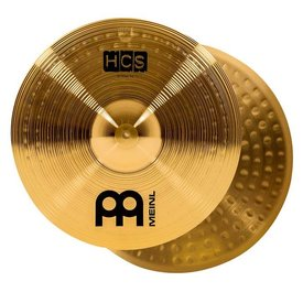 Meinl Cymbals Meinl Cymbals HCS 13'' Hi-Hat Cymbals, Brass