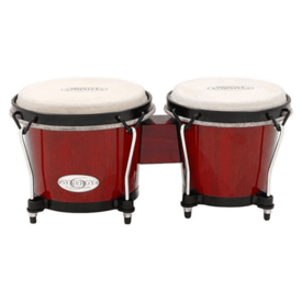 Toca Toca 2100SR Synergy Synthetic Bongos, Red