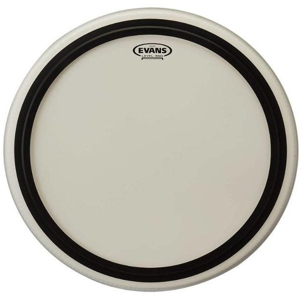 Evans Evans EMAD Coated White Bass Drum Head, 22 Inch