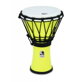 Toca Toca Freestyle Colorsound 7'' Djembe Pastel Yellow