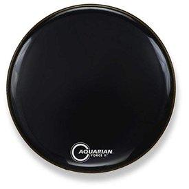 Aquarian Aquarian FR22BK 22'' Black Bass Resonant Head & PHBK 22'' Drumhead