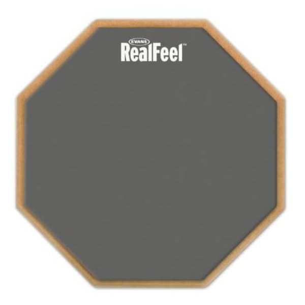 Evans RealFeel by Evans 2-Sided Practice Pad, 12 Inch