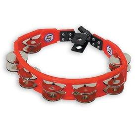 LP LP Cyclops Mountable Tambourine Red Steel Jingles
