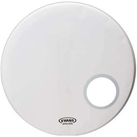 Evans Evans EQ3 Resonant Coated White Bass Drum Head 20""