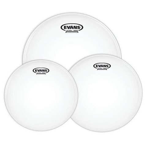 Evans G1 Tompack Coated, Rock (10 inch, 12 inch, 16 inch)