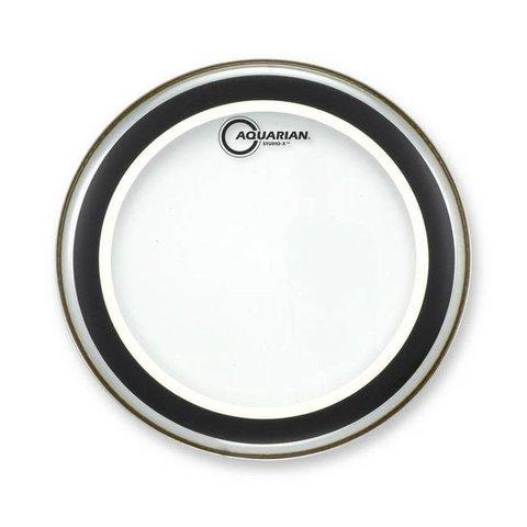 "Aquarian SX16 Studio X Clear Drumhead, 16"""