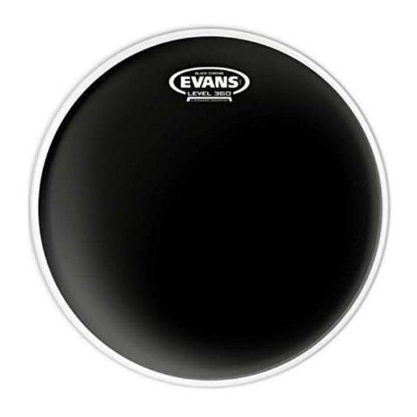 "Evans Evans Black Chrome Drum Head 12"""