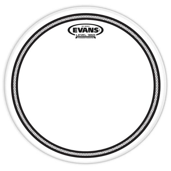 "Evans Evans EC Resonant Drum Head 12"""