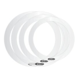 "Evans Evans ER-STANDARD Standard E-Ring Pack, Includes (1) Each: 12"", 13"", 14"", and 16"" Rings"
