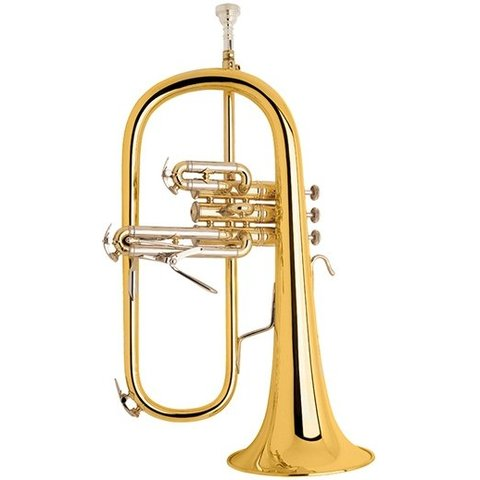 Bach 183G Stradivarius Professional Bb Flugelhorn Gold Brass Bell