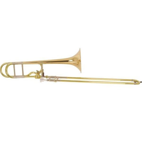Bach Bach 42AFG Stradivarius Professional Tenor Trombone, Gold Brass Bell, No Case