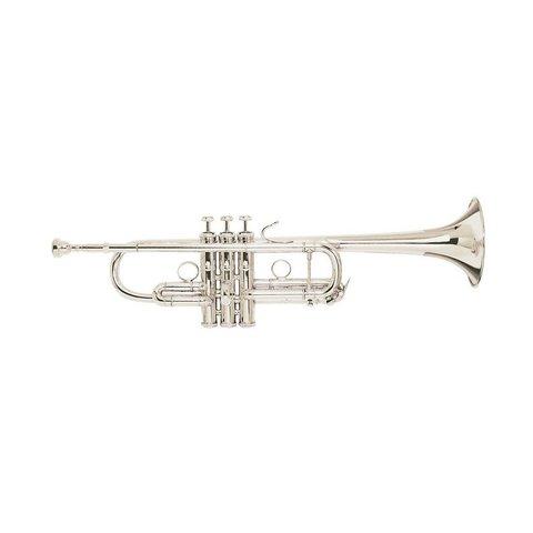 Bach C180SL229PCW1 Strad ''Philly C'' Profess C Trumpet Silver Pltd No case