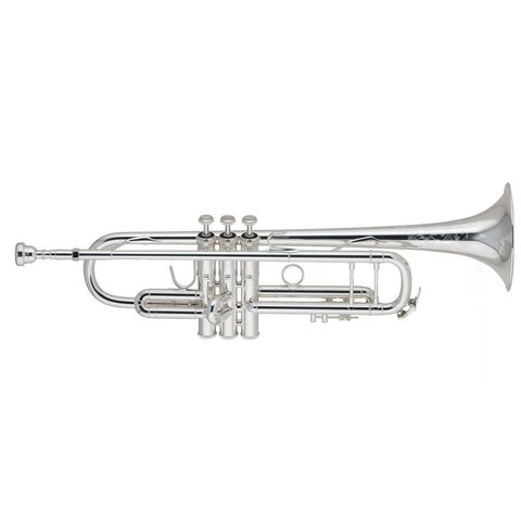 Bach 190S37W1 Stradivarius 50th Anniversary Profess Bb Trumpet, Silver Plated
