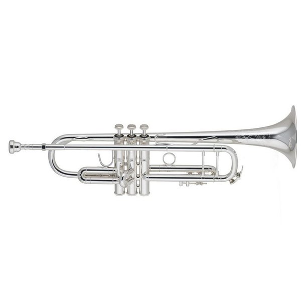 Bach Bach 190S37W1 Stradivarius 50th Anniversary Profess Bb Trumpet, Silver Plated