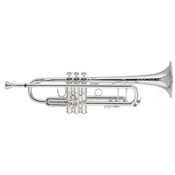 Bach Bach 190S37W1 Stradivarius 50th Anniversary Profess Bb Trumpet, Silver Plated