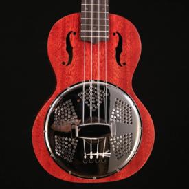 Gretsch Guitars Gretsch G9112 Resonator-Uke w Gig Bag, Honey Mahogany Stain CAU1805081 1lb 7.6oz