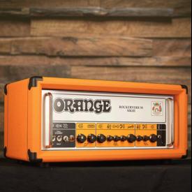 Orange Orange Rockerverb MKIII 50/25 w twin ch. head, attenuator, tube FX loop, reverb