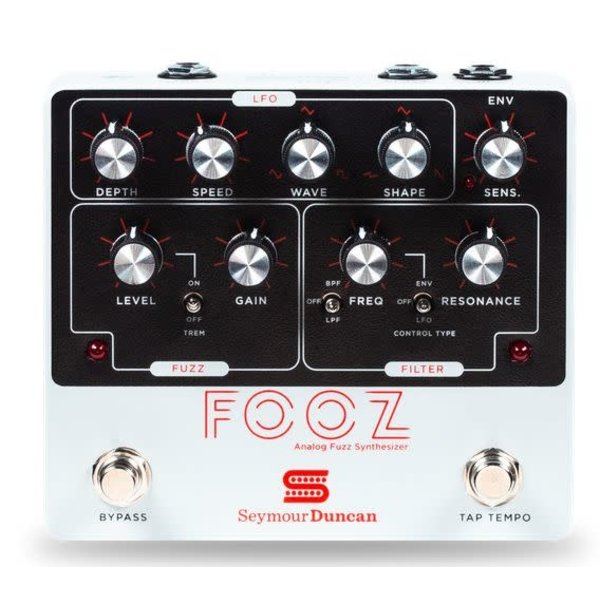 Seymour Duncan Seymour Duncan Fooz Analog Fuzz Synth Pedal