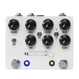 JHS JHS Double Barrel V4 2-in-1 Dual Overdrive Pedal