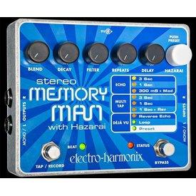 Electro Harmonix Electro Harmonix Stereo Memory Man Looper Pedal w/ Harazai Delay