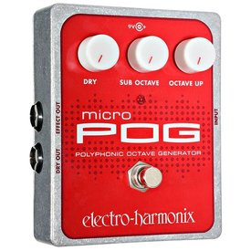 Electro Harmonix Electro-Harmonix EHX Micro POG Polyphonic Octave Generator Pedal