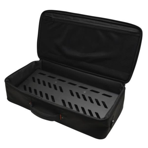 Gator Gator GPB-BAK-1 Black Aluminum Pedal Board; Large w/ Carry Bag