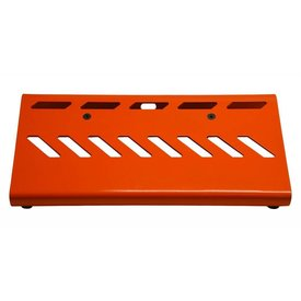 Gator Gator GPB-LAK-OR Small Orange Pedalboard w/ Carry Bag