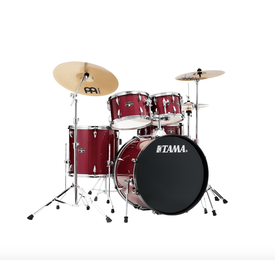 TAMA Tama IE52CCPM Imperial Star 5 Piece Kit w Cymbals, Candy Apple Mist