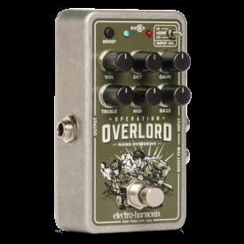 Electro Harmonix Electro-Harmonix Nano Operation Overlord Allied Overdrive Pedal