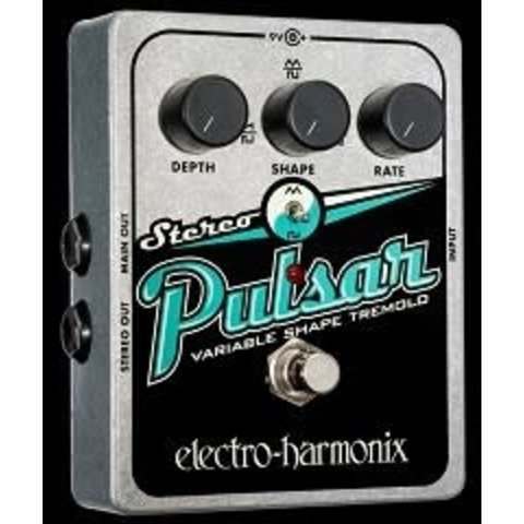 Electro Harmonix Stereo Pulsar Variable Shape Tremolo