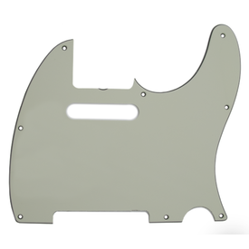 Fender Pickguard, Telecaster, 8-Hole (Vintage-Style Pickup Mount), Mint Green, 3-Ply