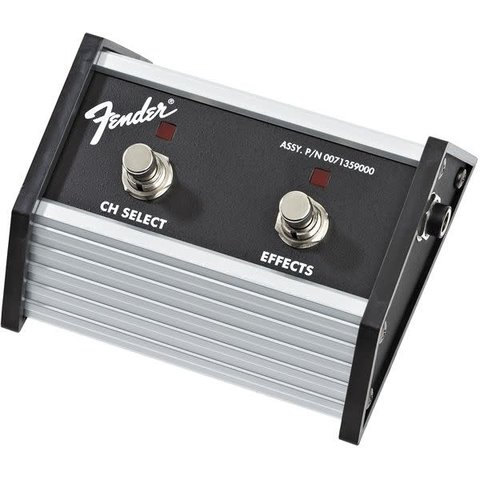 Fender 2-Button Footswitch: Channel Select / Effects On/Off with 1/4'' Jack