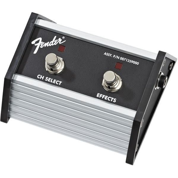 Fender Fender 2-Button Footswitch: Channel Select / Effects On/Off with 1/4'' Jack