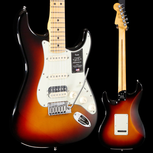 Fender Fender American Ultra Stratocaster HSS, Maple Fb, Ultraburst 433 7lbs 14.8oz
