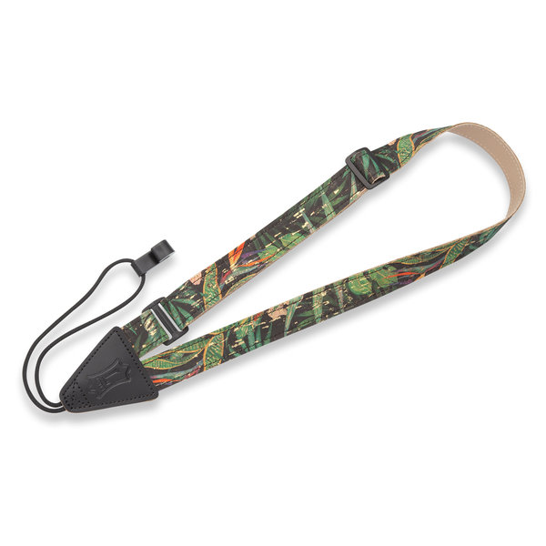 """Levy's Leathers Levy's MX23-005 1"""" Wide Cork Classical and Ukulele Strap"""