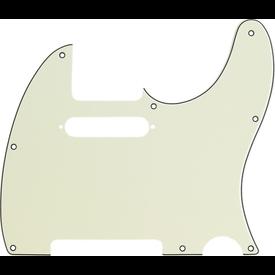 Fender Pickguard, Telecaster, 8-Hole Mount, Mint Green, 3-Ply