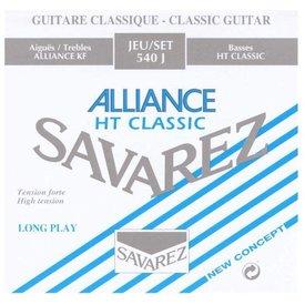 Savarez Savarez 540J Alliance High Tension Nylon Classical Guitar Strings, Tie-End