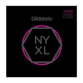 D'Addario Fretted D'Addario NYXL0980 Nickel Wound 8-String Electric, Super Light, 09-80