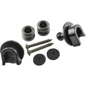 Fender Security Locks & Buttons, Black (2)