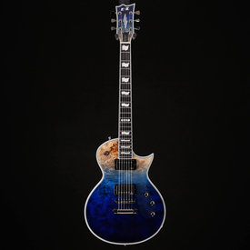 ESP ESP E-II Eclipse, Blue Natural Fade w/ Hard Case 5193 7lbs 14.5oz