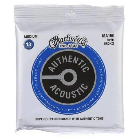Martin Authentic Acoustic Lifespan 2.0 Treated 80/20 Bronze Medium 13-56