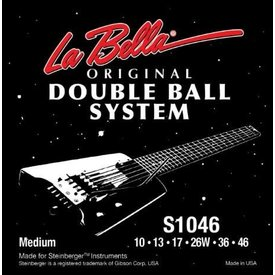 LaBella Steinberger Double Ball End System 10-46 SET
