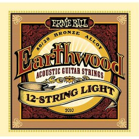 Ernie Ball 2010 Ernie Ball Earthwood 80/20 Bronze 12-String Light