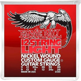 Ernie Ball 2233 Ernie Ball Light Slinky 12-String RED