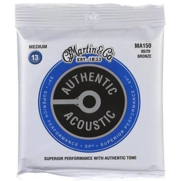 Martin Martin Authentic Superior Performance Acoustic 80/20 Phosphor Bronze Bluegrass