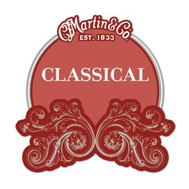 Martin Martin Classical, Hard Tension, Silver-plated, Ball End