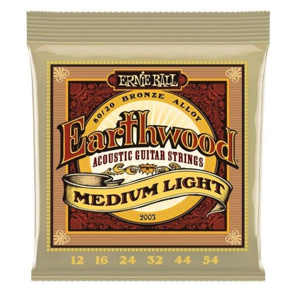 Ernie Ball 2003 Ernie Ball Earthwood Medium Light 12-54