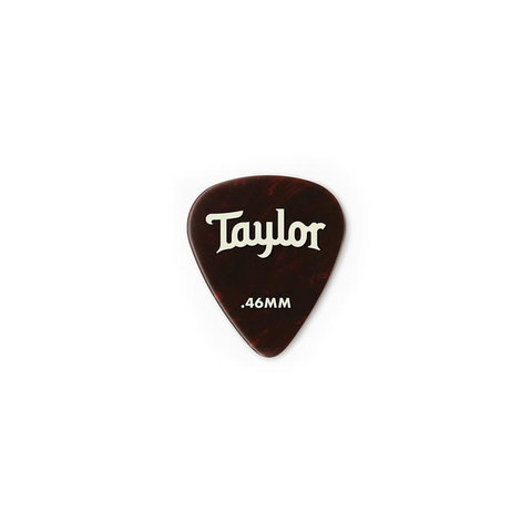 Taylor Celluloid 351 Picks, Tortoise Shell, .46mm 12-Pack - 80774